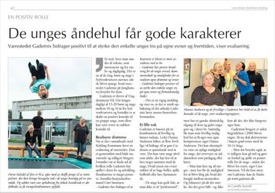 Klik p� billedet og l�s artiklen fra Lokal-Bladet Bustikken - Kolding